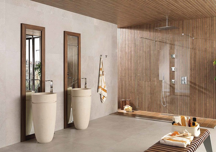 035 amazing bathrooms porcelanosa usa homeadore for Douche porcelanosa