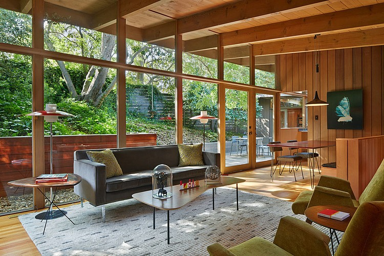 mid century modern renovation by koch architects homeadore