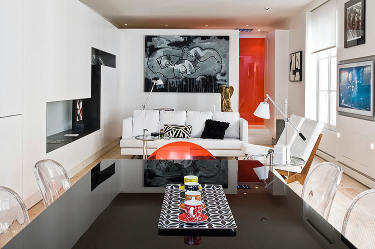 Apartement in Paris by Manuel Sequeira