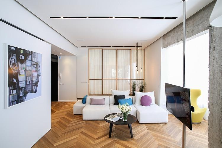Rothschild Blvd Apartment by Dori – Interior Design
