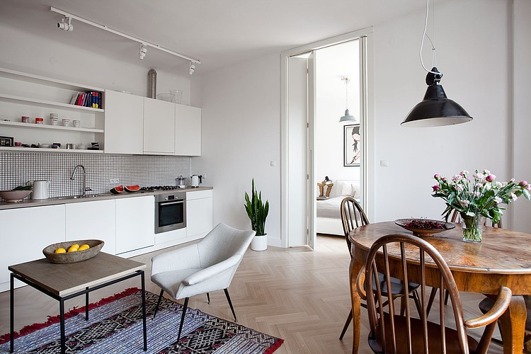 Home in Warsaw by KW Studio