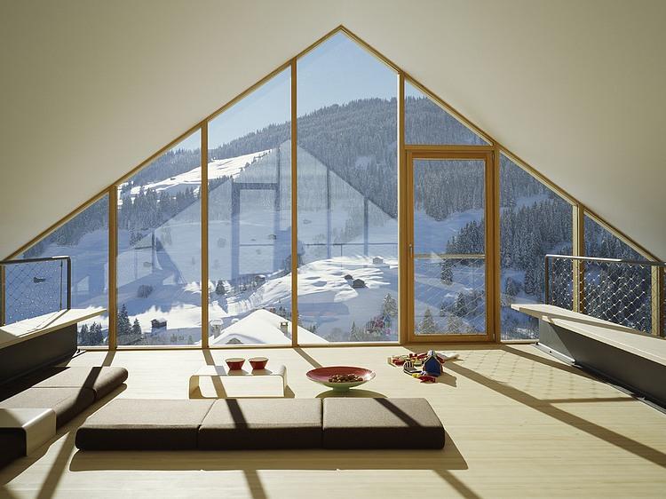 Panix Retreat by Drexler Guinand Jauslin Architekten