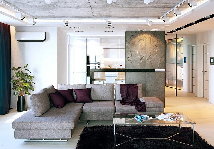 Kiev Apartment by Kattgor-Prikhodko