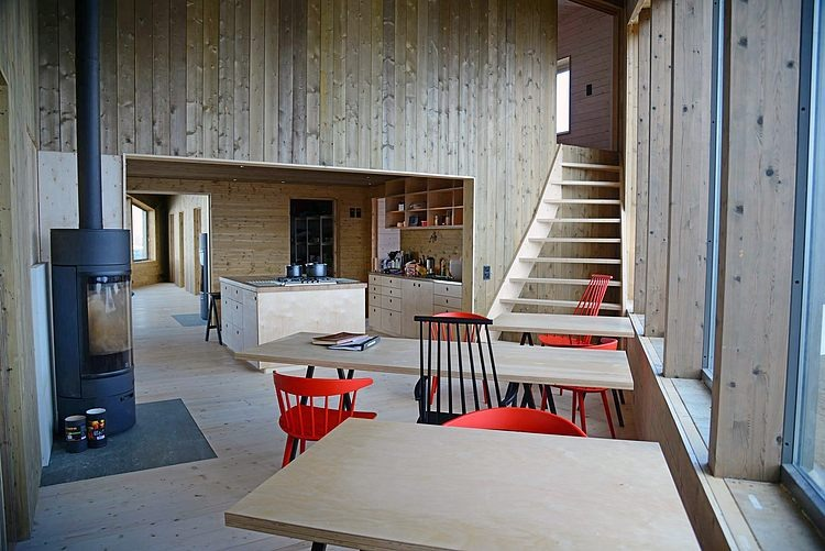 Rabot Tourist Cabin by Jarmund / Vigsnæs Architects