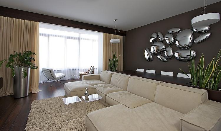 Dnipropetrovsk Apartment by Svoya Studio