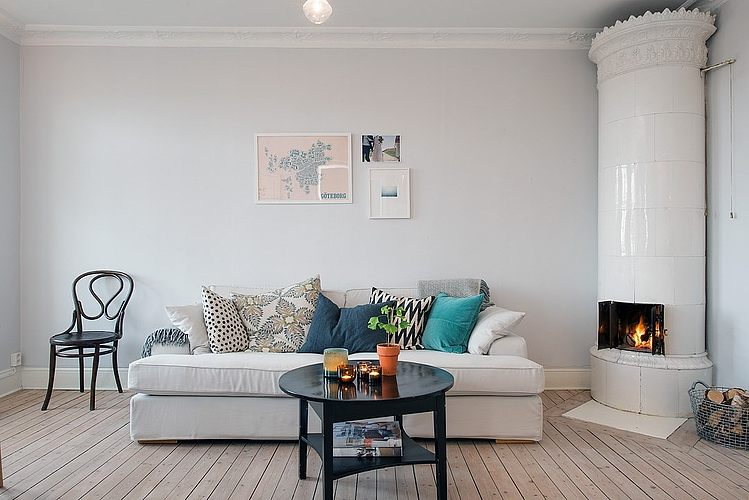 Övre Djupedalsgatan Apartment by Johanna Tant