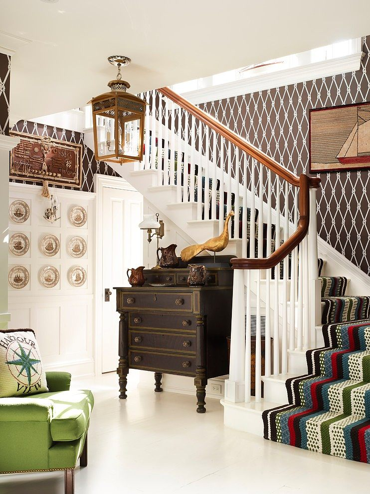 Stair Box In Bedroom: Westchester Nautical By Anthony Baratta