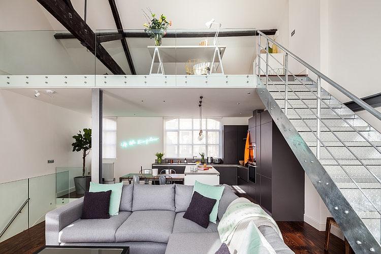 Dalston Loft by Michelle Chaplin Interiors