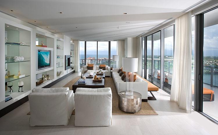 Modern Miami Apartments Apogee Apartment By Sharron Lewis Design Central HomeAdore