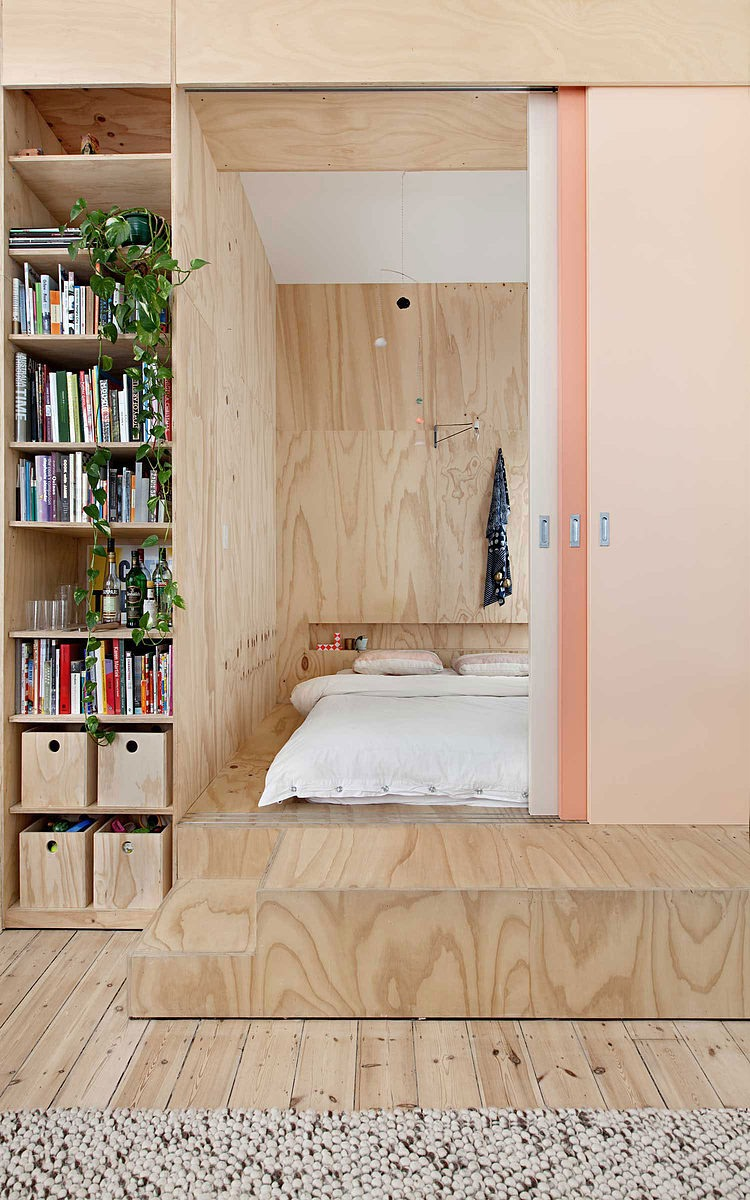 Flinders Lane Apartment by Clare Cousins Architects