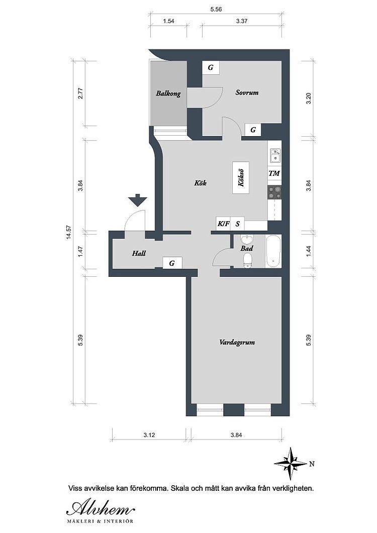 021 gothenburg apartment
