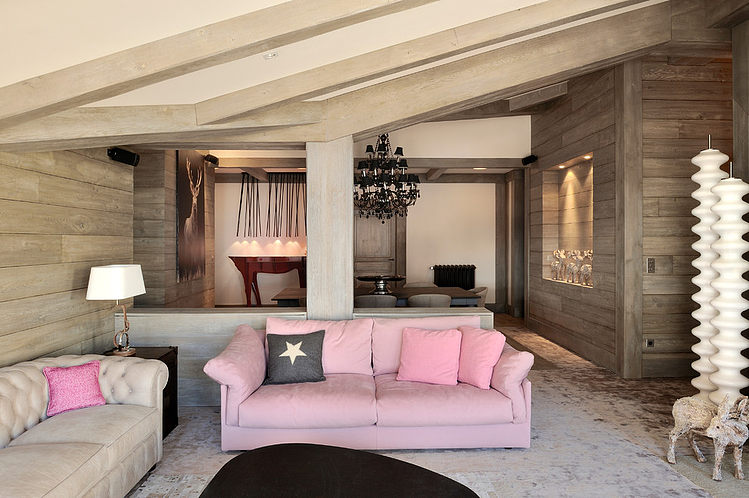 Penthouse in Val-d'Isère by Jorge Grasso