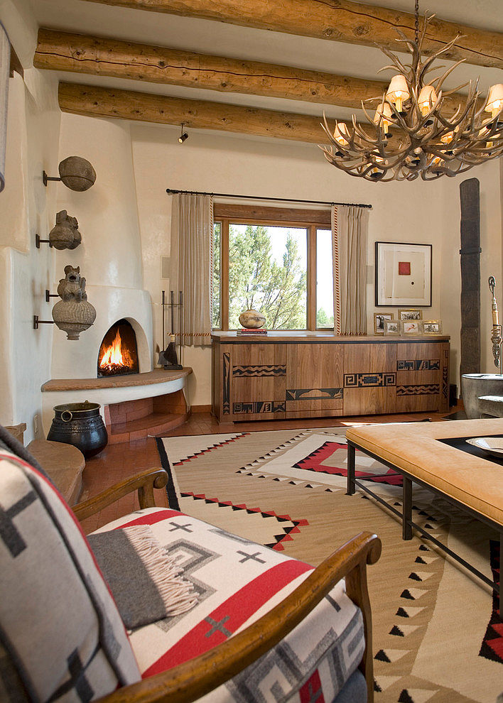 004 santa fe chic samuel design group homeadore for Santa fe home design
