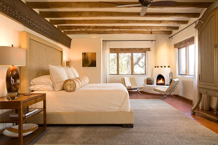 Santa fe chic by samuel design group homeadore for Santa fe home design