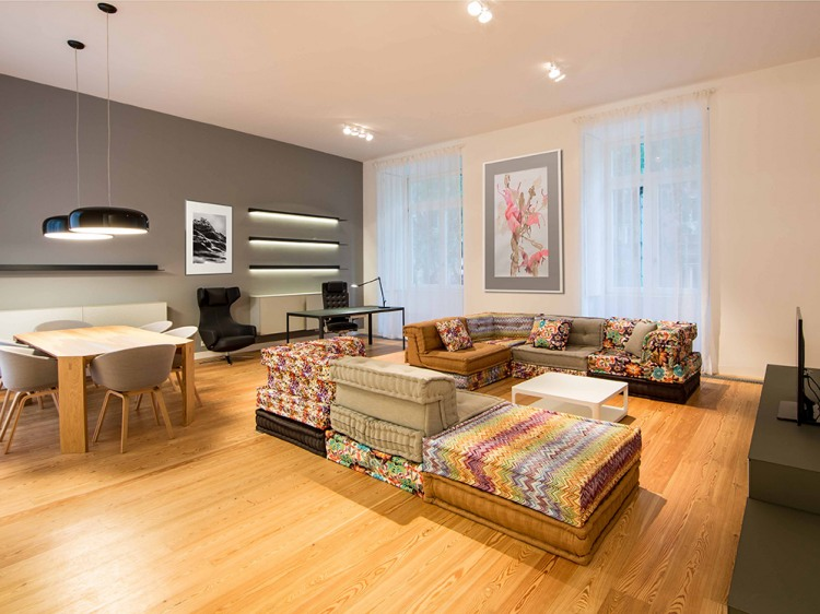 Colourfull living, Apartment by Architect Your Home
