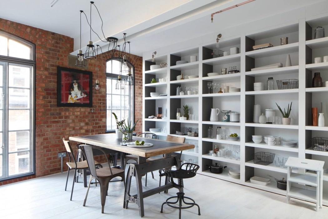 Soho Apartment by Fine Edge Designs