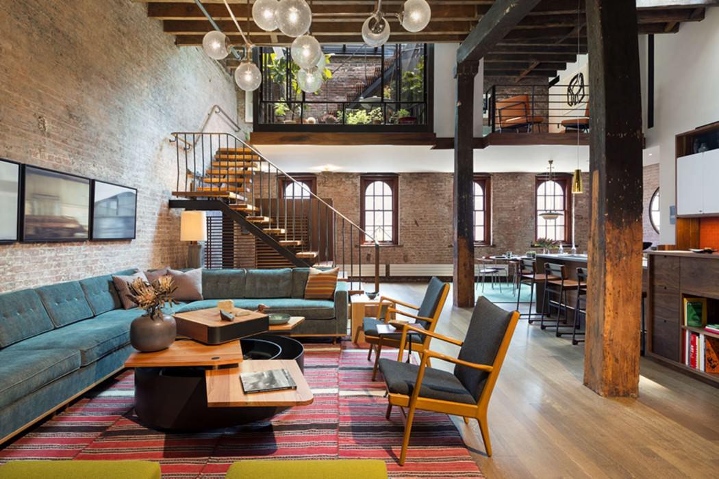 Tribeca Loft by Andrew Franz