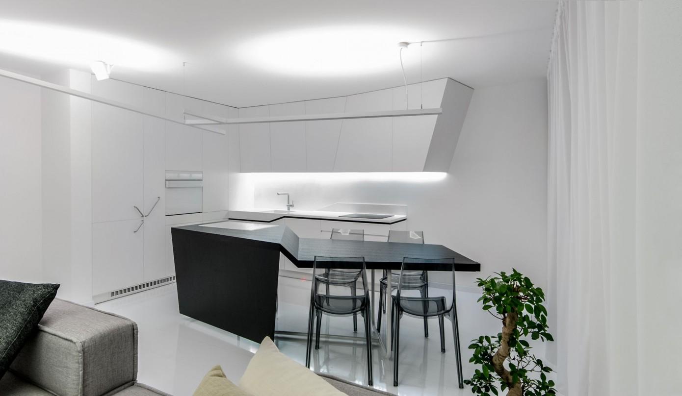 Futuristic Apartment by Rado Rick Designers