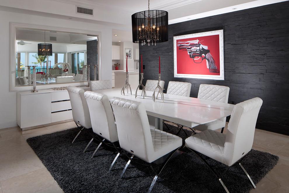 Miami Beach Apartment by Pauline Zurich