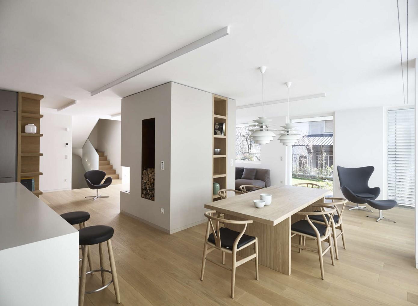 Mp apartment by burnazzi feltrin architetti homeadore for Architetti per interni