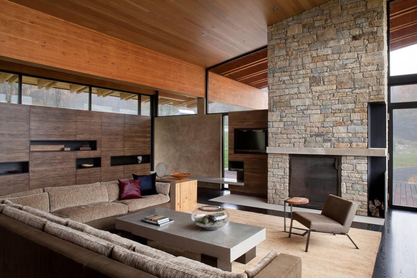 New york house by sergio mercado design homeadore for Modern house new york