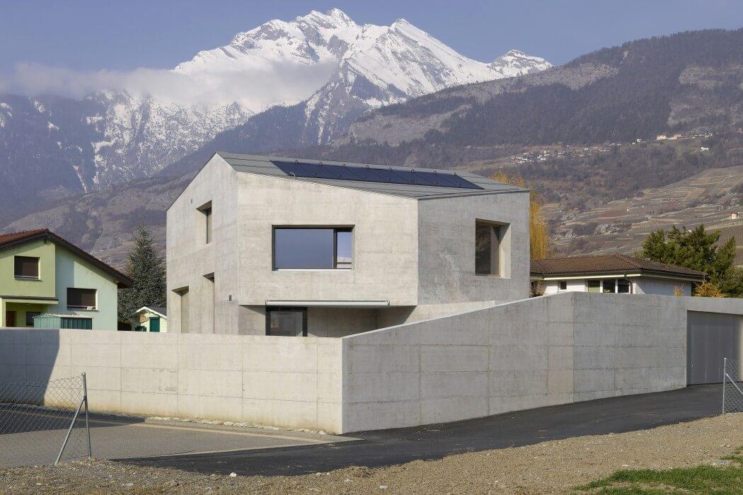 Maison Fabrizzi by Savioz Fabrizzi Architecte