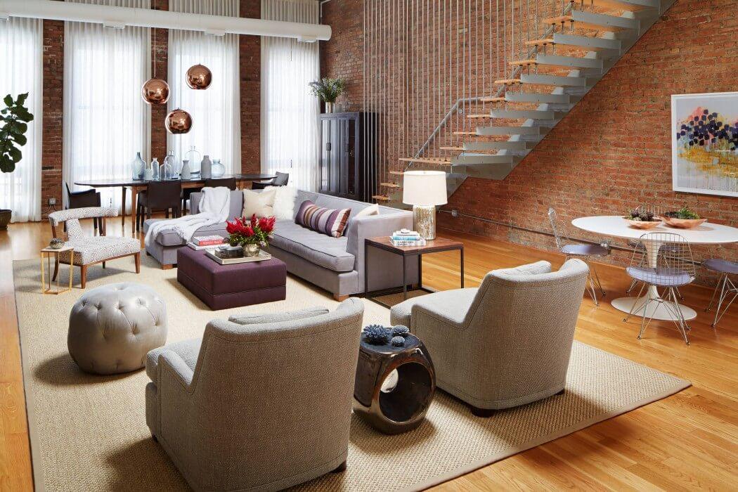 Urban Loft by Jessica Lagrange Interiors