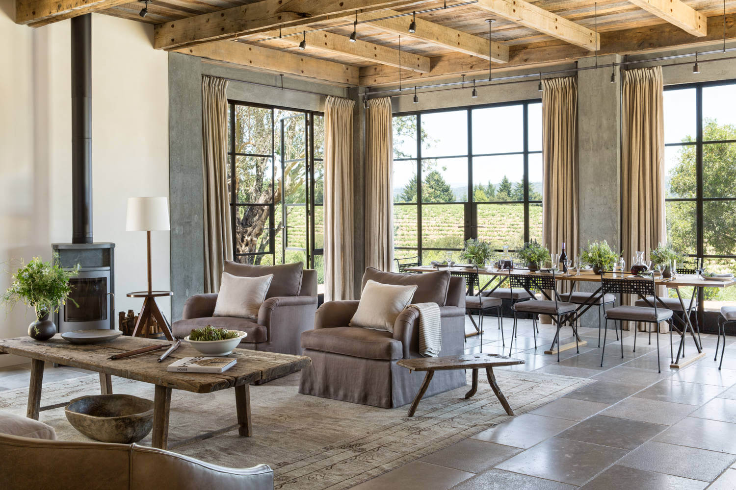 Healdsburg Ranch by Jute Interior Design | HomeAdore on contemporary office interior design, contemporary new york interior design, room corner fireplace design, wood interior design, marble interior design, contemporary electric fireplace designs, contemporary bedroom interior design, contemporary dining room interior design, contemporary style interior design, outdoor fireplaces interior design, contemporary fireplace decorating, contemporary fireplace with stone wall, contemporary kitchen interior design, contemporary fireplace storage, contemporary apartment interior design, contemporary high ceilings interior design, contemporary bathroom interior design, modern fireplace design, contemporary bar interior design, contemporary luxury home interior design,
