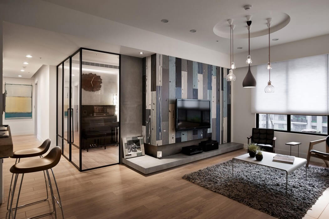 Apartment in Taiwan by Fertility Design