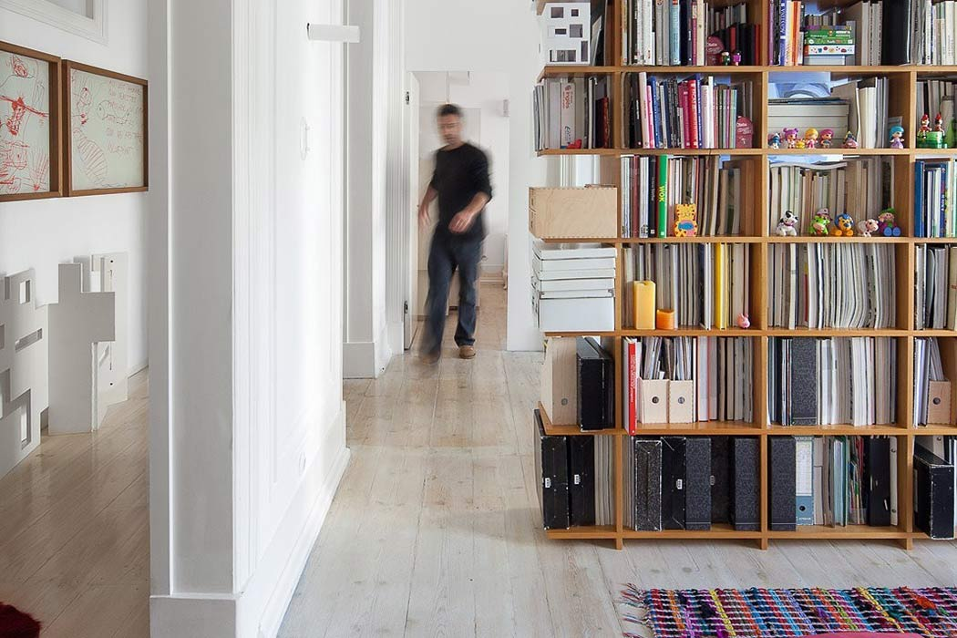 Loft in Lisbon by Atelier Veloso Architects