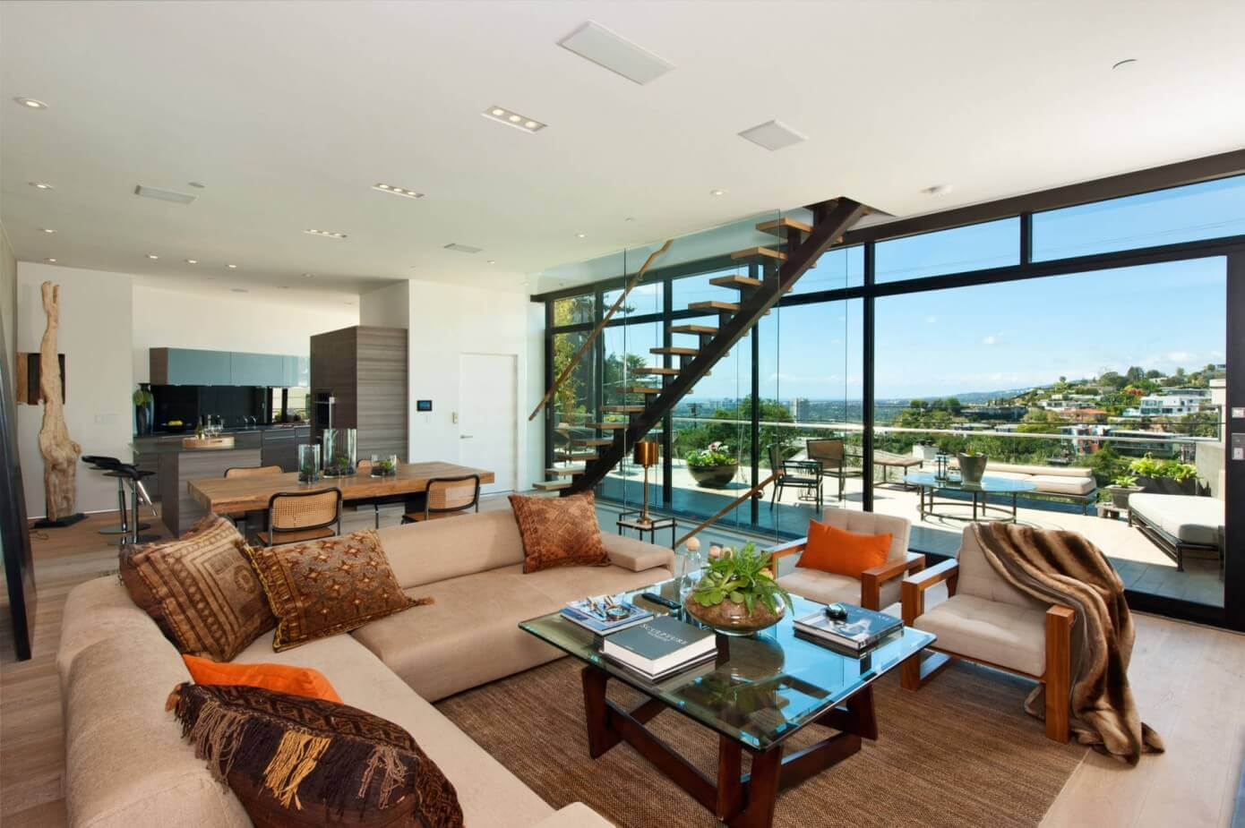 Hollywood blvd residence by meridith baer home homeadore - Villa moderne los angeles meridith baer ...