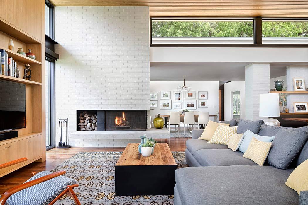 Three-Courts Residence by Allison Burke Interior Design