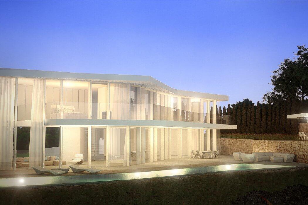 House in Cala Ambolo by Ramon Esteve Estudio