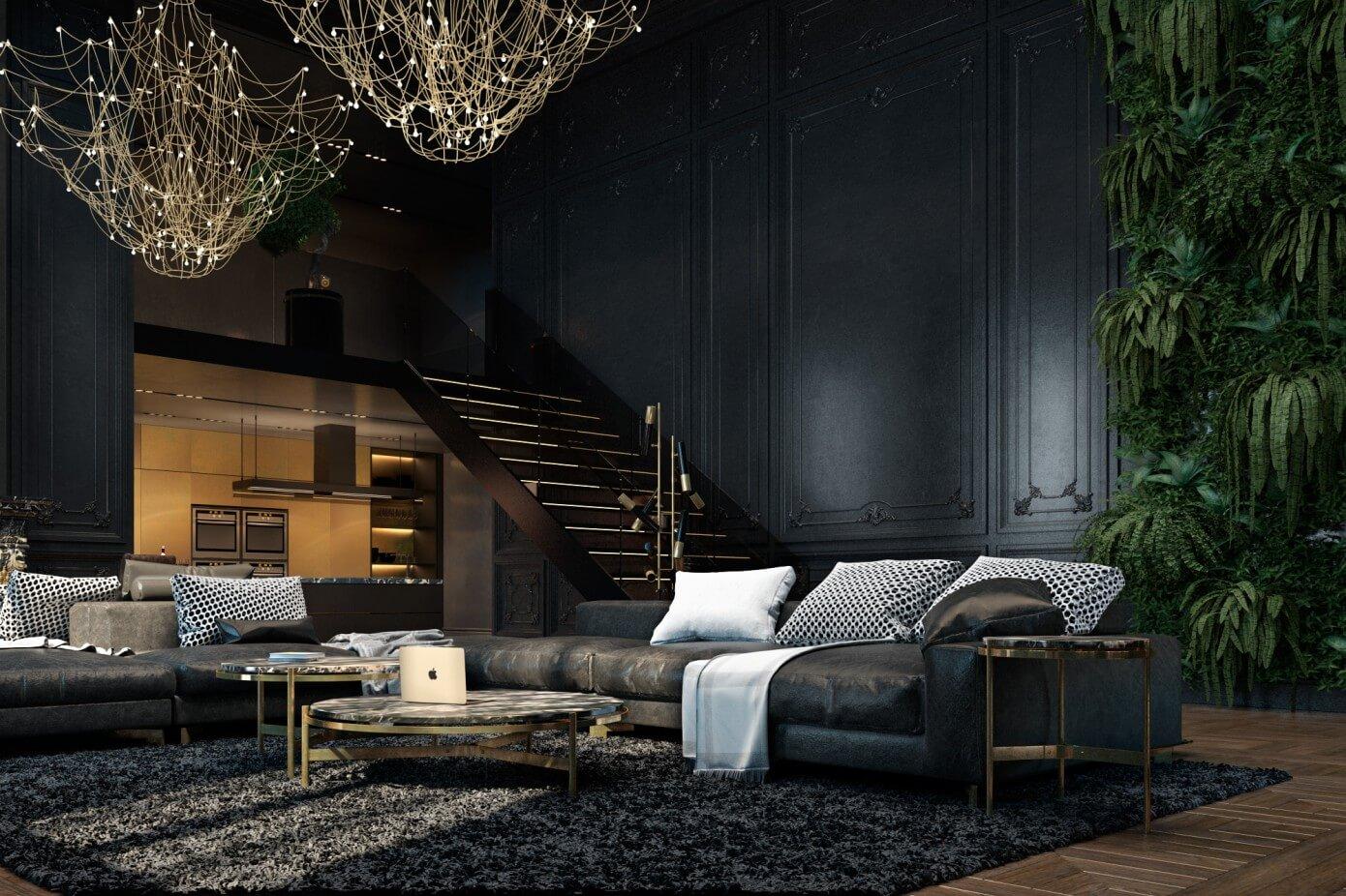 Apartment in Paris by Iryna Dzhemesiuk & Vitaliy Yurov