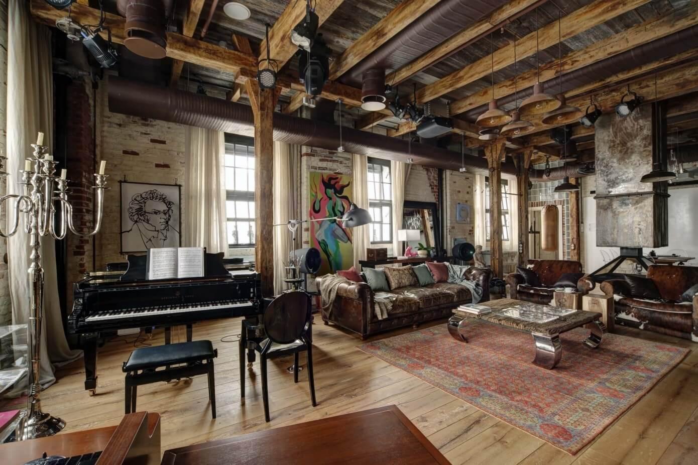 midlife crisis loft by lev lugovskoy homeadore. Black Bedroom Furniture Sets. Home Design Ideas