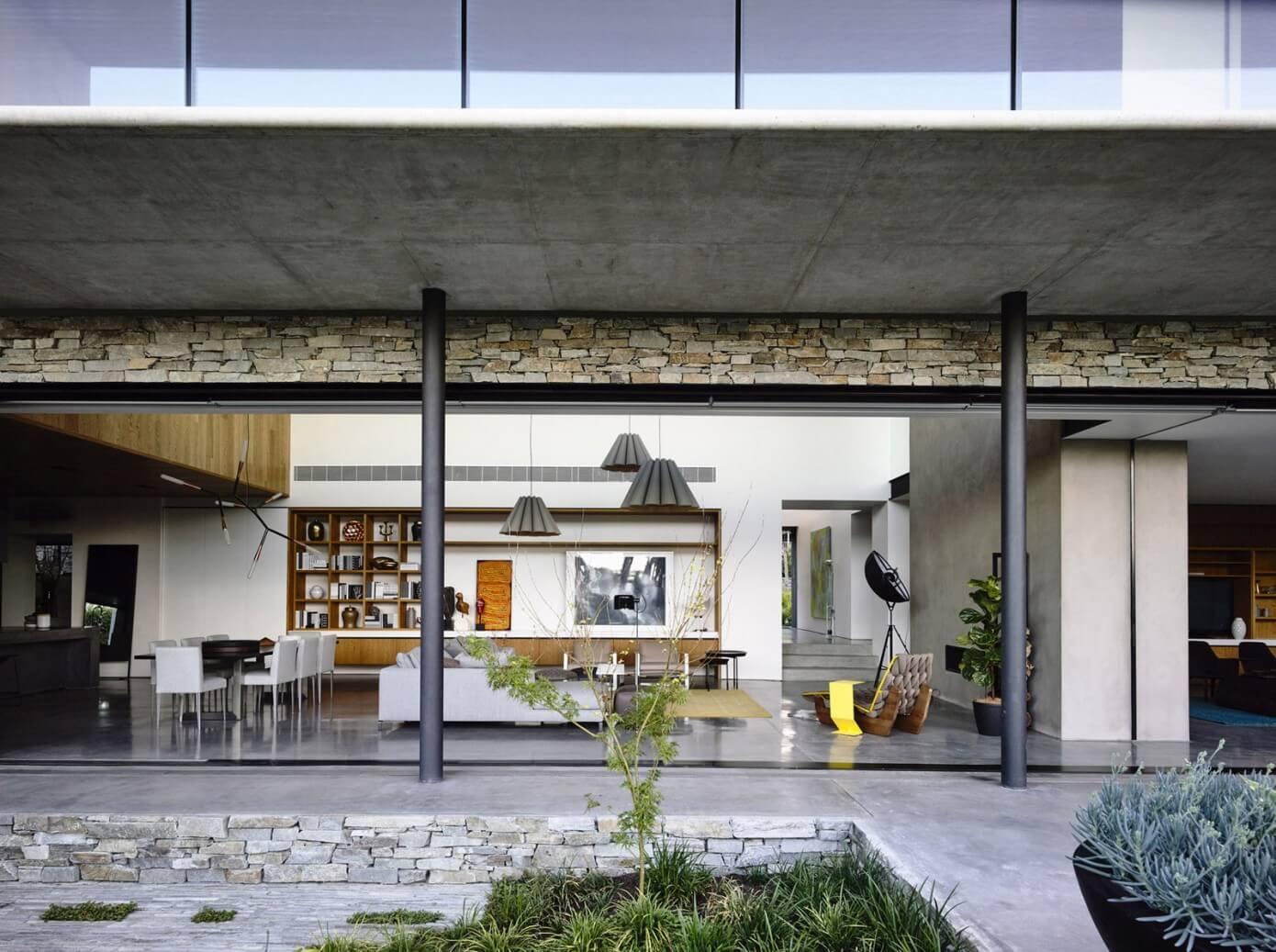 008 Concrete House Matt Gibson Architecture Homeadore