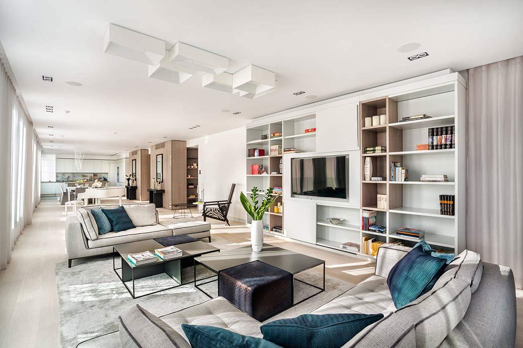Luxury European Penthouse by KNOF Design