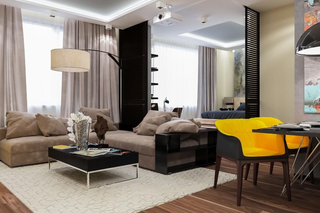Contemporary Apartment by Interierium