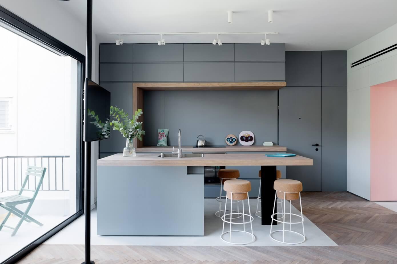 interior kitchen the home tel aviv design | Tel Aviv Apartment by Maayan Zusman Interior Design ...