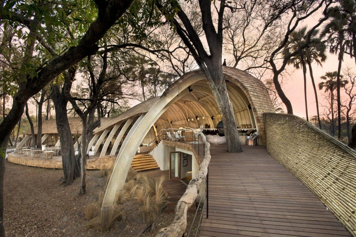 Sandibe Safari Lodge by Michaelis Boyd