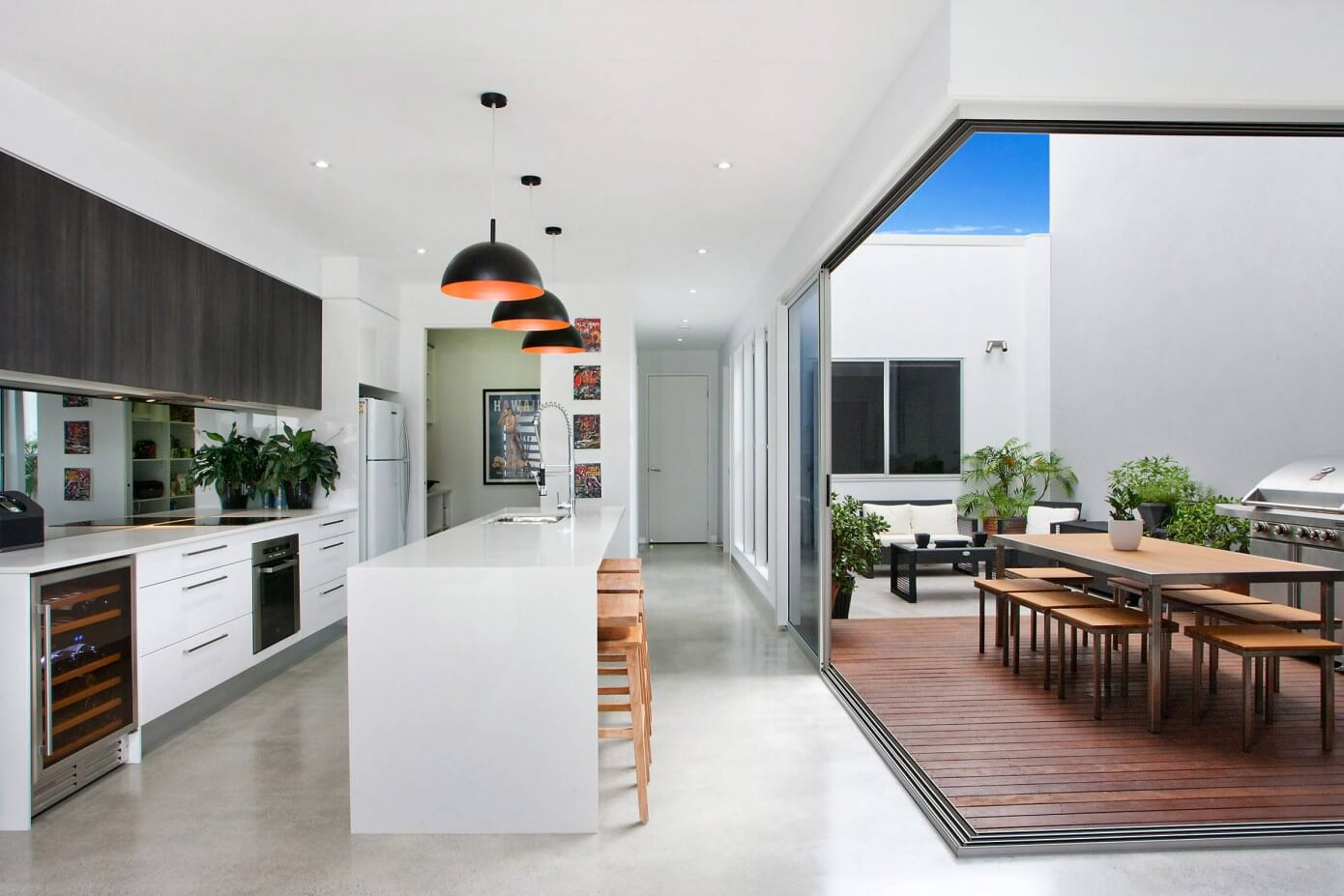 005 house sunshine coast principal plans homeadore for Beach house designs sunshine coast