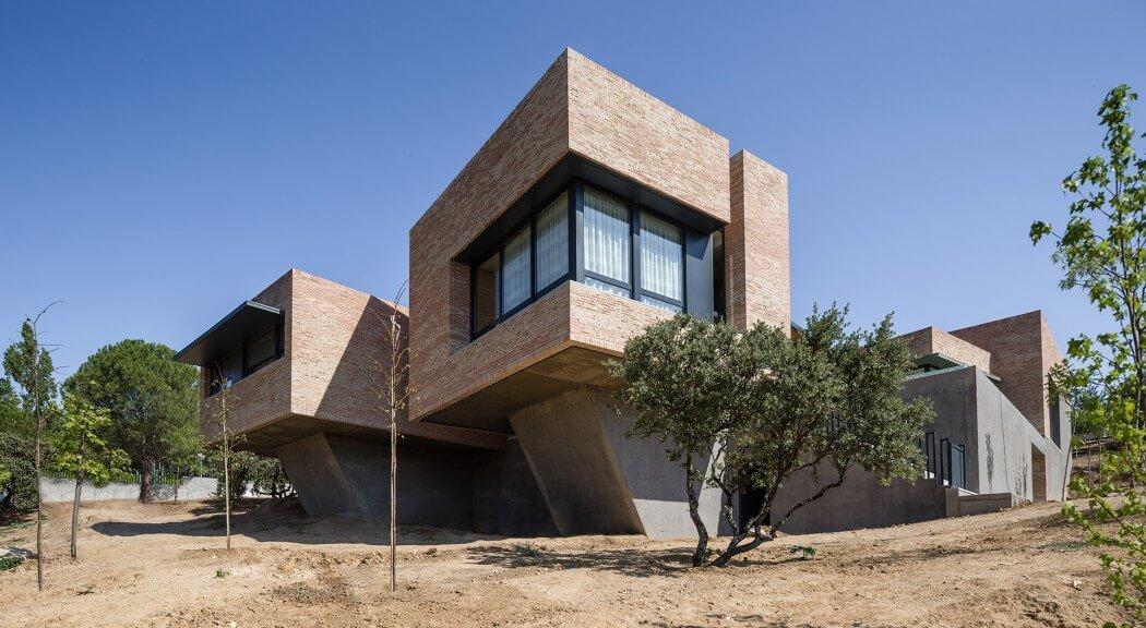 House in molino de la hoz by mariano molina iniesta - Molino de la hoz ...