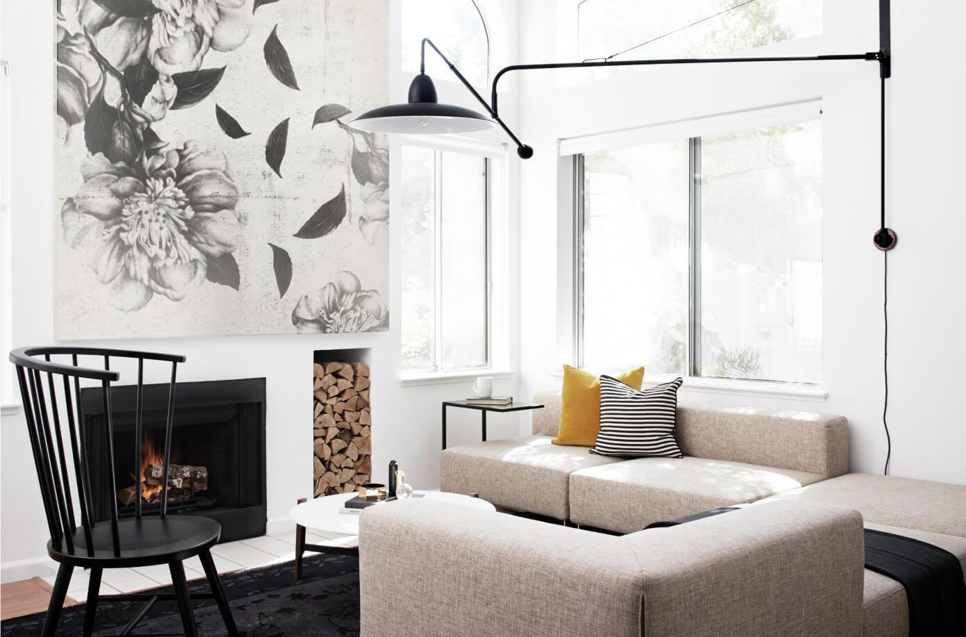 Modern Scandinavian Fireplace: Mountain View Townhouse By Studio Revolution « HomeAdore