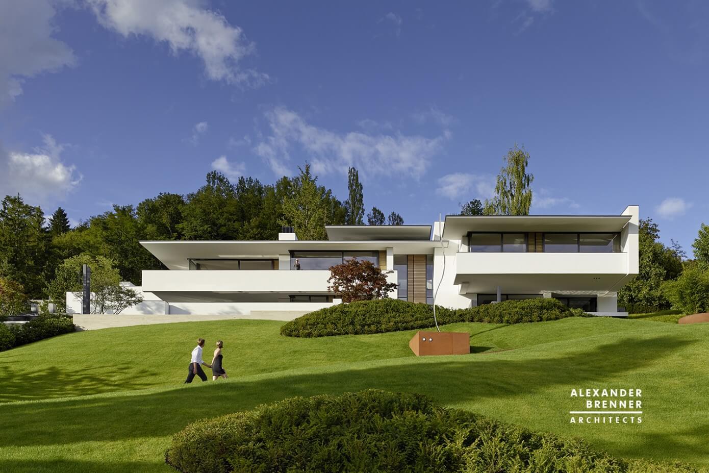 house in reutlingen by alexander brenner architekten homeadore. Black Bedroom Furniture Sets. Home Design Ideas