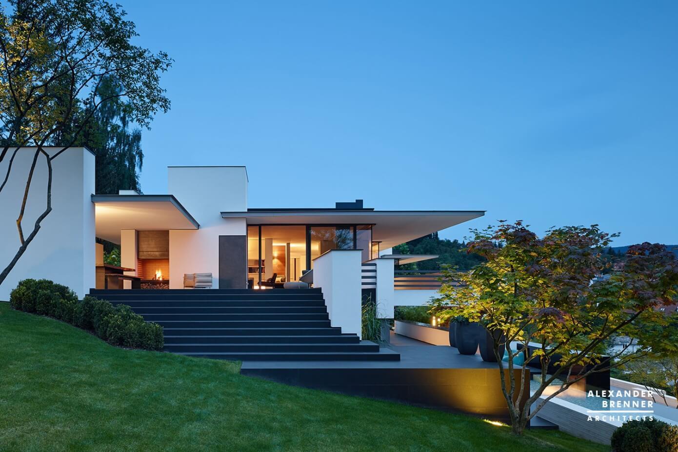 014 house reutlingen alexander brenner architekten homeadore. Black Bedroom Furniture Sets. Home Design Ideas
