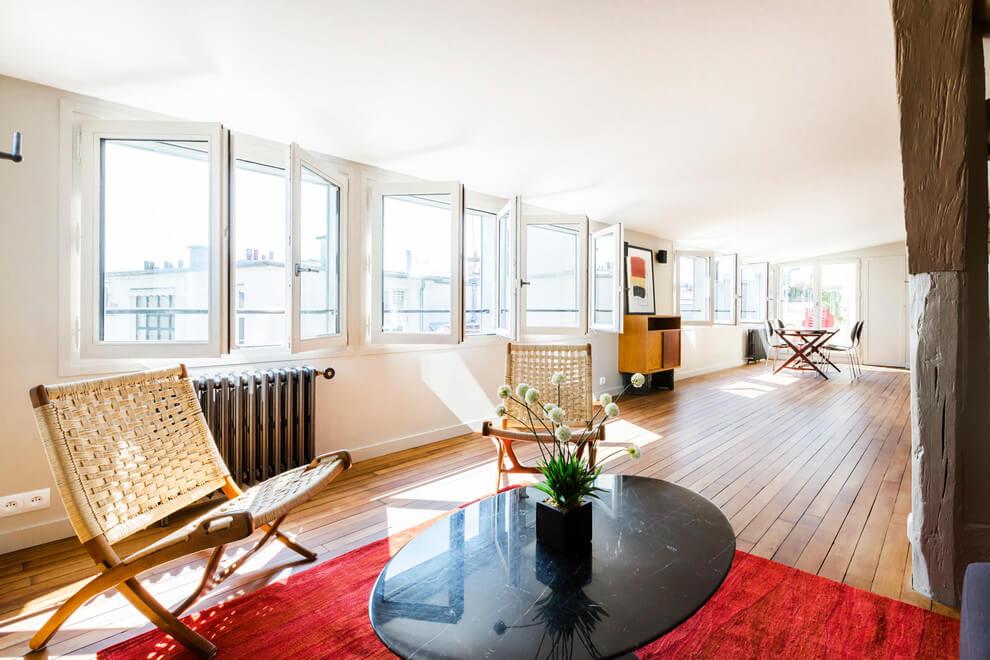 Seine Apartment by A+B KASHA Designs