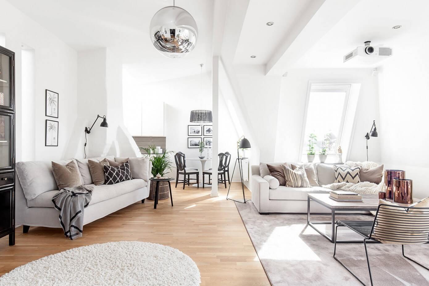 Modern Loft In Gothenburg By Moodhouse Interi 246 R Homeadore