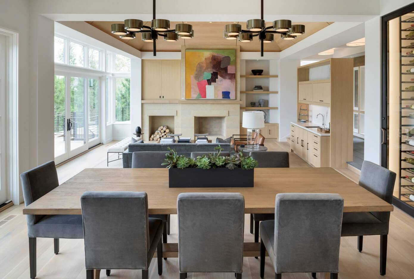 Midwest Luxury Home by Martha O'Hara Interiors