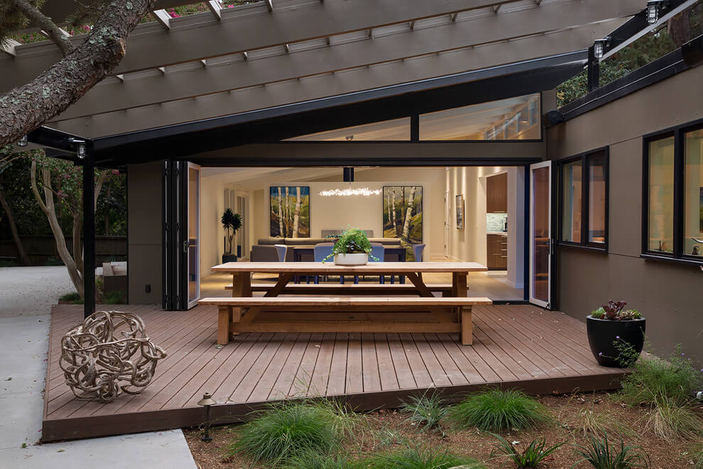 014 Midcentury Modern House Klopf Architecture Homeadore