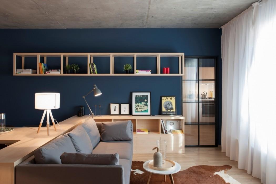 Apartment by Bogdan Ciocodeica & Diana Rosu